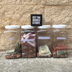 Penny Wars fundraiser for Susan G. Komen Race for the Cure