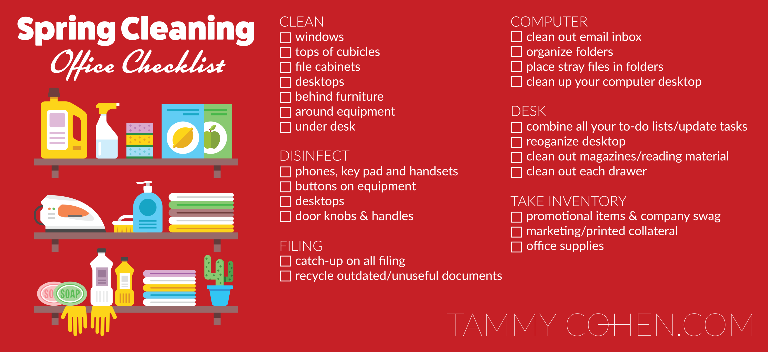 SpringCleaning-Checklist